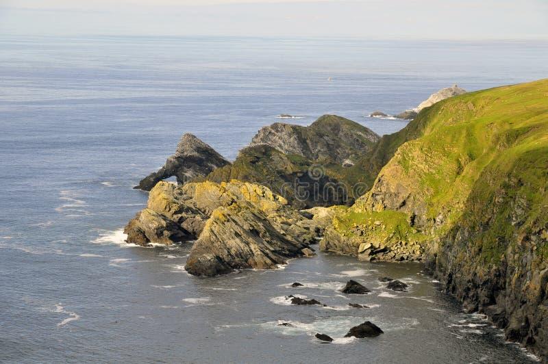 Hermaness, îles d'îles Shetland photos stock