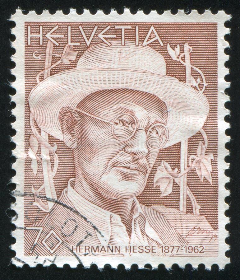 Hermann Hesse royalty-vrije stock afbeeldingen