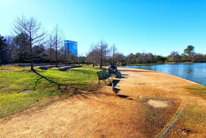 Hermann Park à Houston photos libres de droits