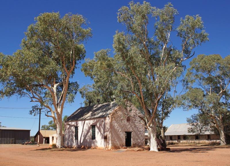 Hermannsburg, Австралия стоковая фотография rf