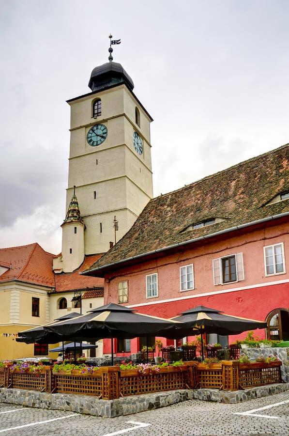 hermannstadt锡比乌transylvania 免版税图库摄影