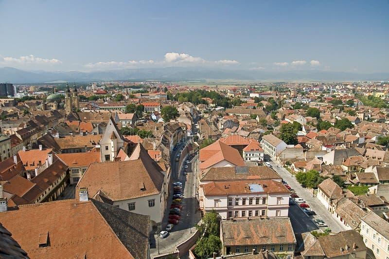 Download Hermannstadt obraz stock. Obraz złożonej z niebo, błękitny - 13333043