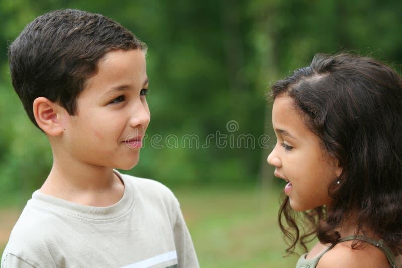 Hermano y hermana fotografía de archivo libre de regalías