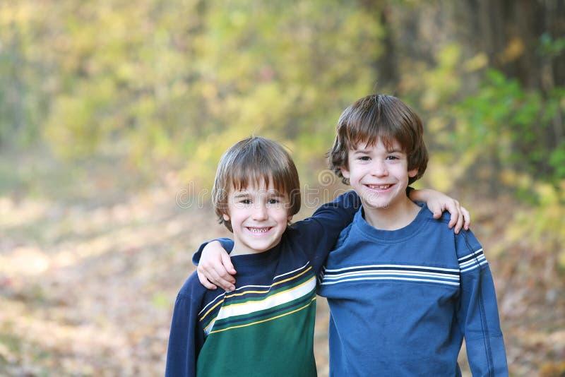 Hermanos imagen de archivo libre de regalías