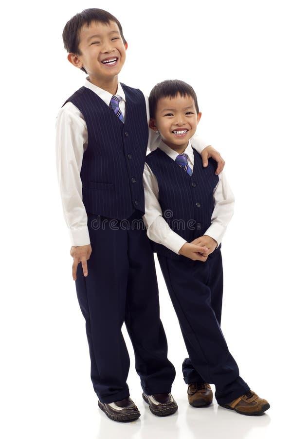 Hermanos asiáticos fotografía de archivo