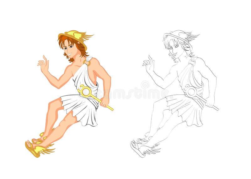 Hermes иллюстрация штока