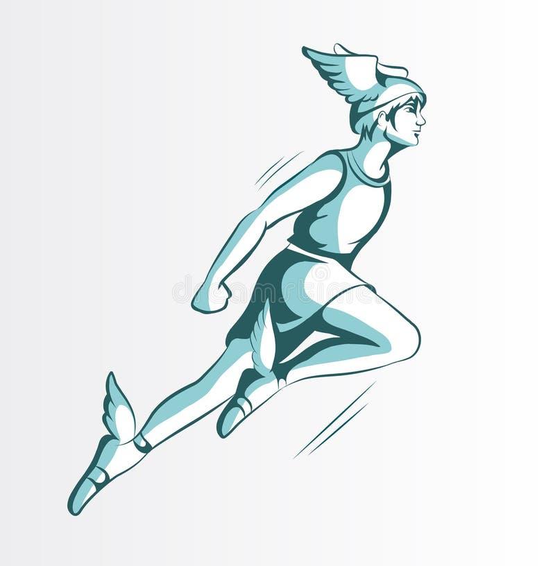 Hermes royalty illustrazione gratis