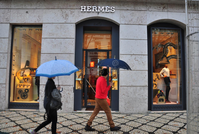 Download Hermes Boutique In Lisbon, Portugal Editorial Stock Photo - Image: 36464888