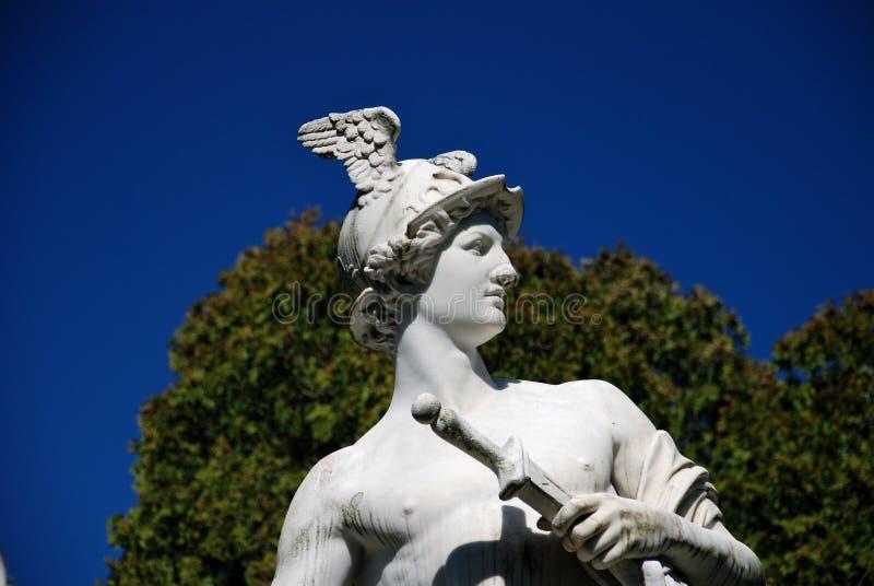hermes hermesvilla statua Vienna zdjęcie stock