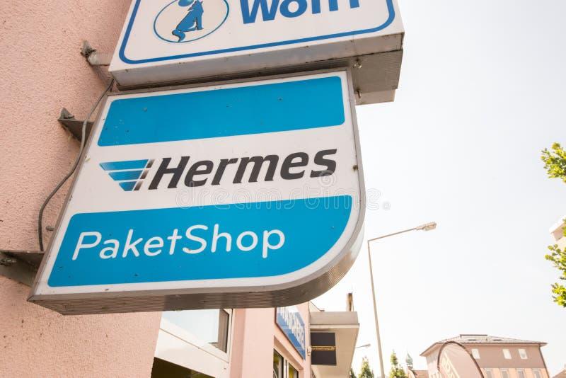 Hermes Paketshop foto de stock