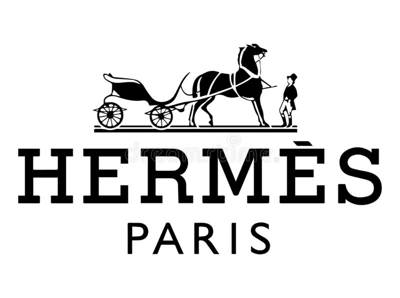 Hermes Paris Vector Illustration ilustración del vector
