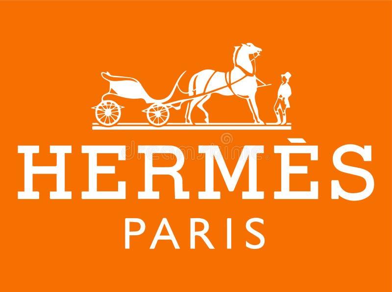 Hermes Paris Vetora Illustration ilustração stock