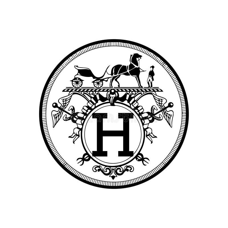 Hermes Paris Vetora Illustration ilustração royalty free