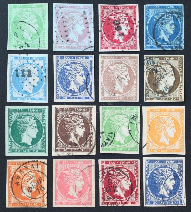 hermes znaczki obrazy stock