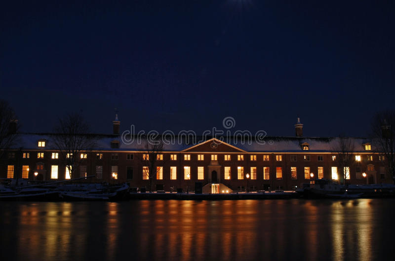 Hermitage, Amsterdam stock photos