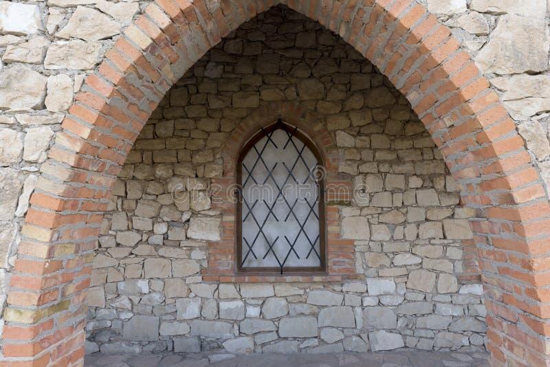 Hermitage Fayon. In Zaragoza province in Spain stock image