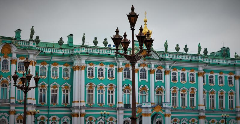 Hermitage. Great Russian Hermitage royalty free stock photo