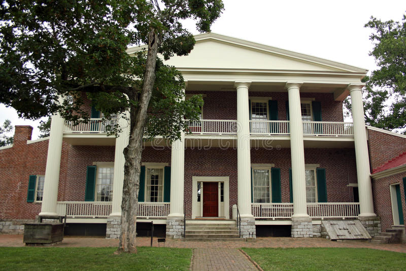 Hermitage - Home of President Andrew Jackson. Near Nashville, Tennessee stock photo