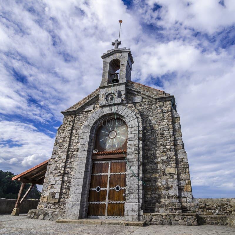 Hermitage. Island San Juan of Gaztelugatxe stock image