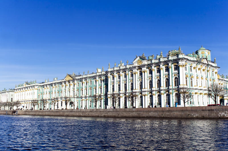 Download The Hermitage Museum stock photo. Image of cityscape - 19366062