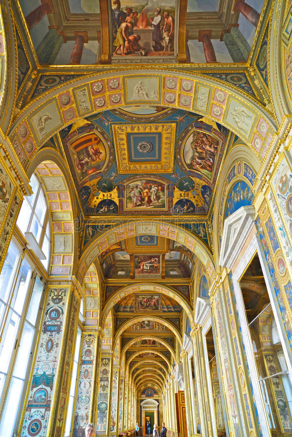 Hermitage museum (winter palace) st Petersburg royalty free stock images