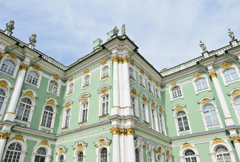 The Hermitage. Part of the Hermitage, Winter Palace, St. Petersburg, Russia royalty free stock photo