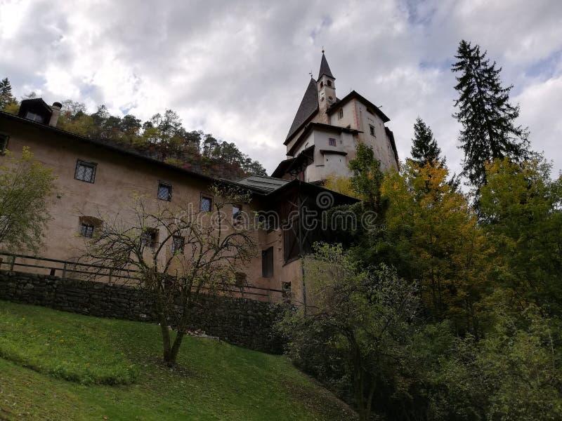 Hermitage of Saint Romedio stock image
