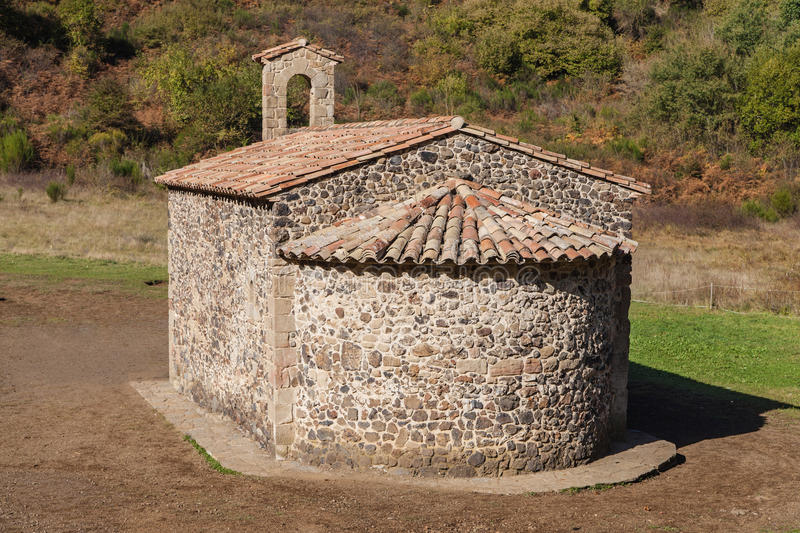 Hermitage of Santa Margarida stock photo