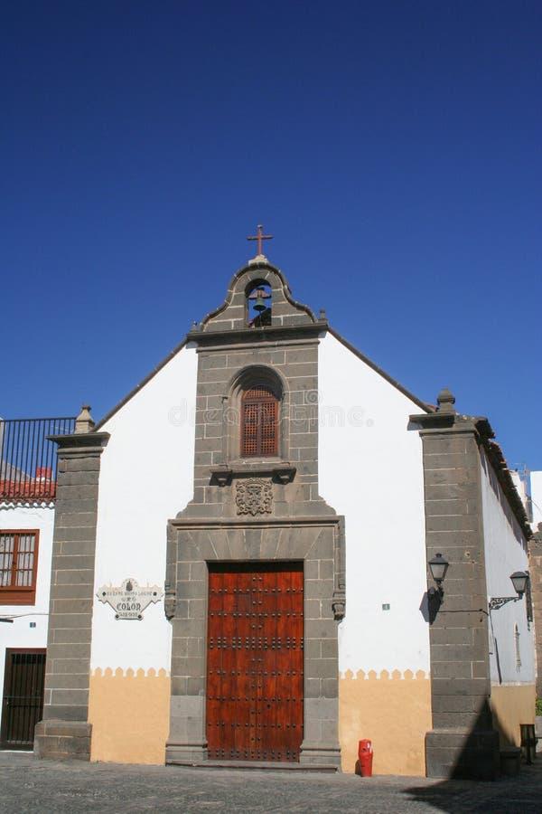 Hermitage von Columbus auf der Kanarischen Insel stockfoto