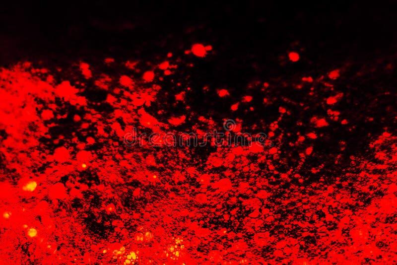 Hermosa textura abstracta color naranja negro y pared roja lava fondo de pared rojo en el patrón de piedra oscura color fondos de imagen de archivo libre de regalías