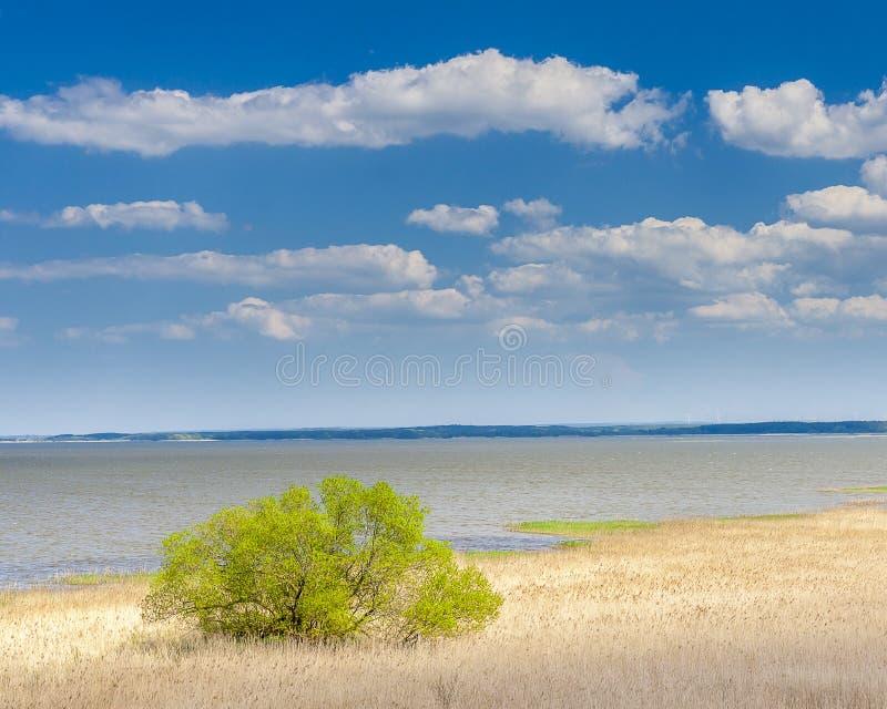 Hermosa vista del ebsko del  del lago Å fotografía de archivo libre de regalías