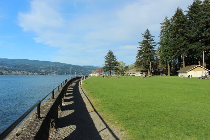 Hermosa vista del río Columbia imagen de archivo libre de regalías