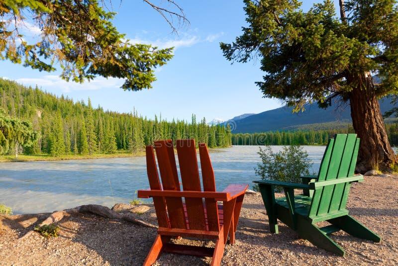 Hermosa vista en Canadá fotografía de archivo