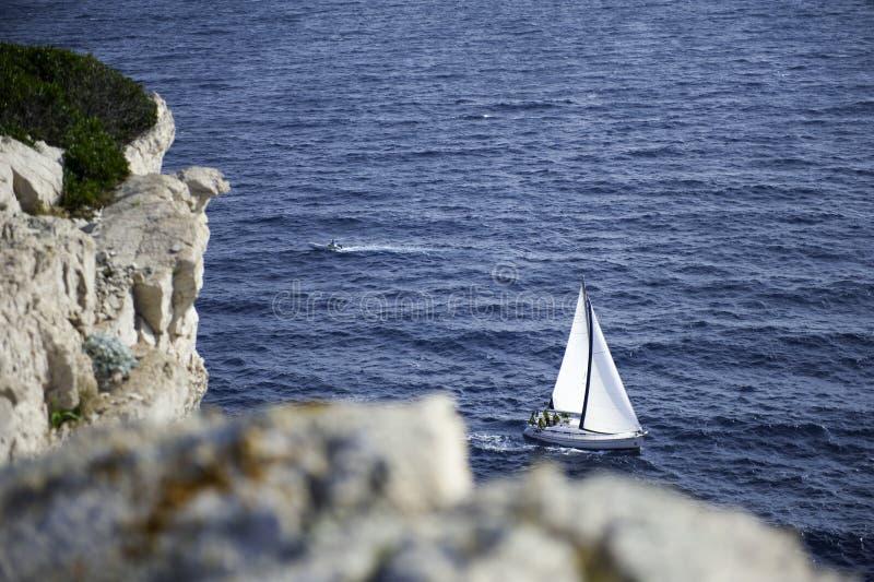 Hermosa vista en Cornati Croacia fotos de archivo libres de regalías
