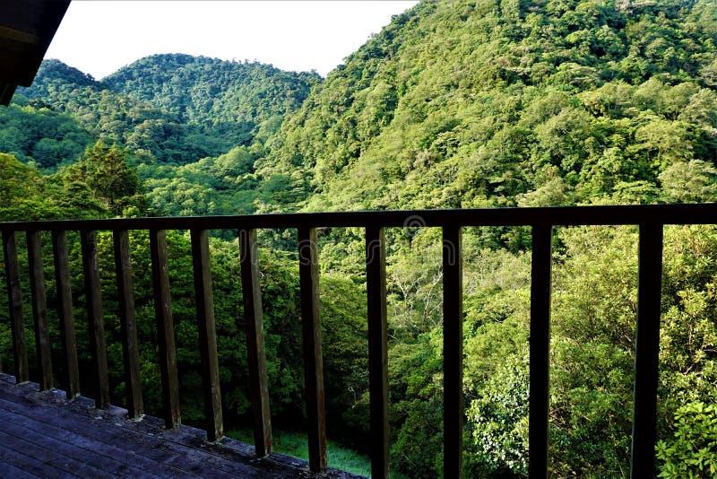 Hermosa vista a las colinas de Juan Castro Blanco National Park imagen de archivo