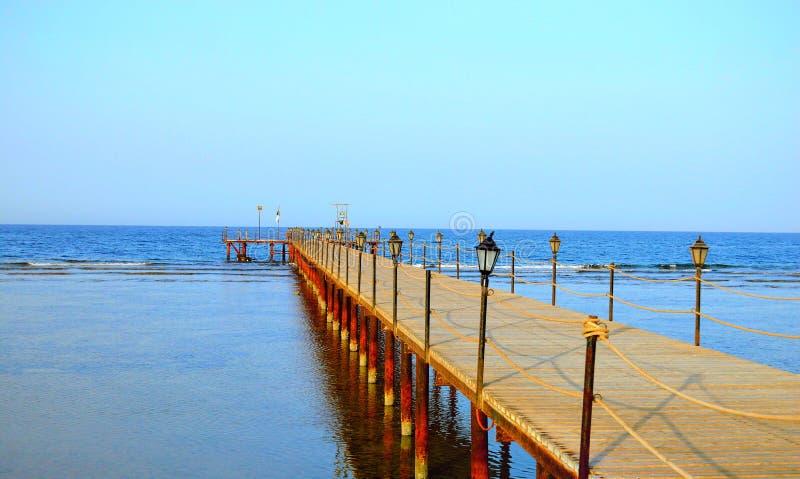 Hermosa vista, Mar Rojo - Marsa Alam - Egipto fotos de archivo