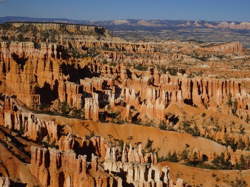 Hermosa vista sobre Bryce Canyon, Utah, los E.E.U.U. foto de archivo libre de regalías