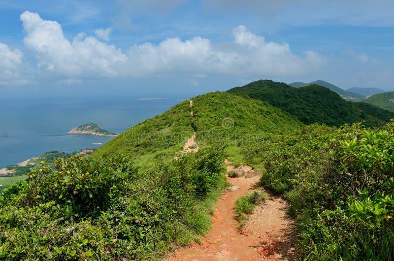 Hermosas vistas y naturaleza del rastro de Hong Kong fotos de archivo libres de regalías