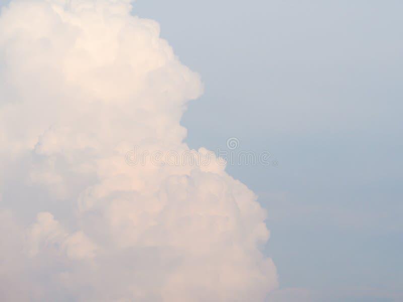 Hermoso de fondo del cielo azul, sintiendo freshy imagen de archivo