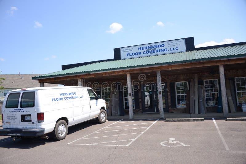Hernando Floor Covering, Hernando, Mississippi fotografia stock libera da diritti