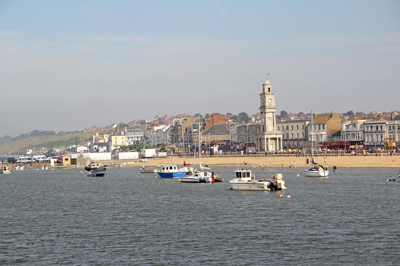 Herne bay seafront stock photography
