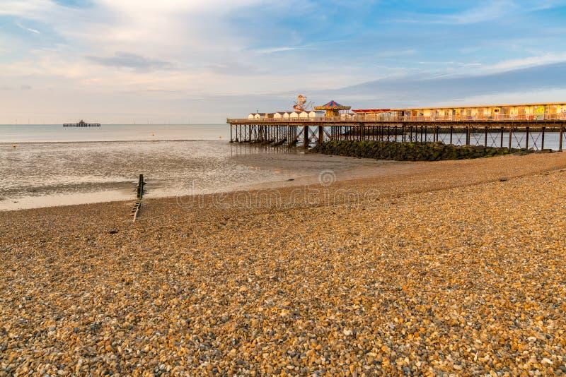 Herne-Bucht, Kent, England, Großbritannien stockfoto