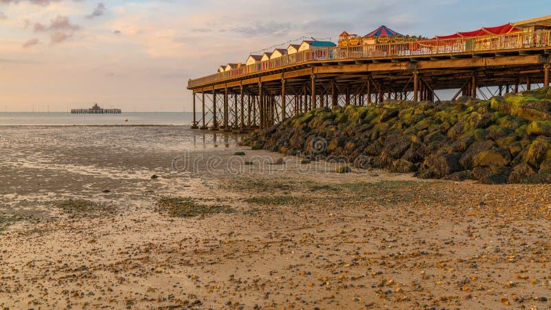Herne-Bucht, Kent, England, Großbritannien lizenzfreie stockfotografie