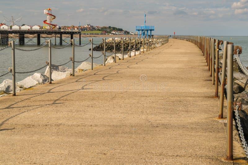 Herne-Bucht, Kent, England, Großbritannien lizenzfreie stockfotos