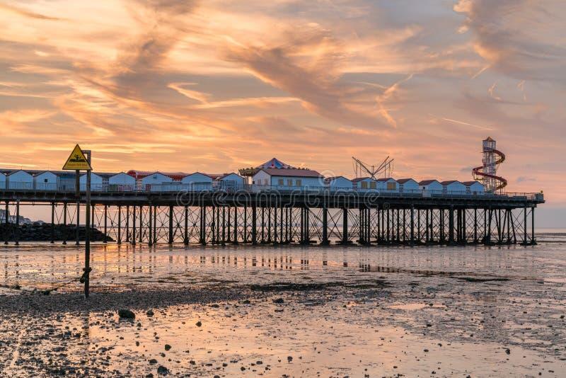 Herne-Bucht, Kent, England, Großbritannien lizenzfreies stockfoto
