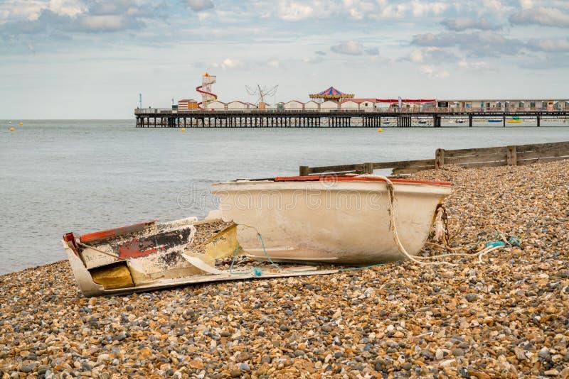 Herne-Bucht, Kent, England, Großbritannien stockfotografie