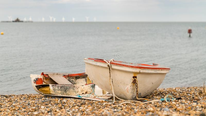 Herne-Bucht, Kent, England, Großbritannien stockbild
