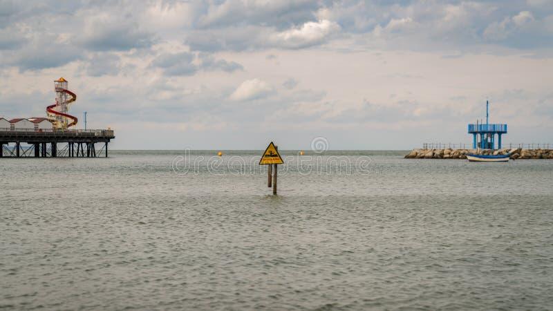 Herne-Bucht, Kent, England, Großbritannien lizenzfreie stockbilder