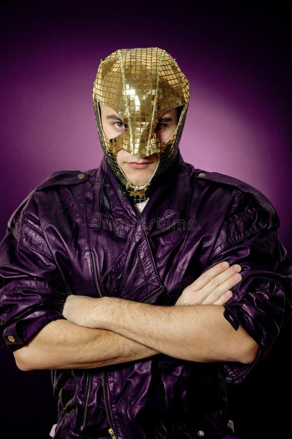 Hero In Mask Royalty Free Stock Photos