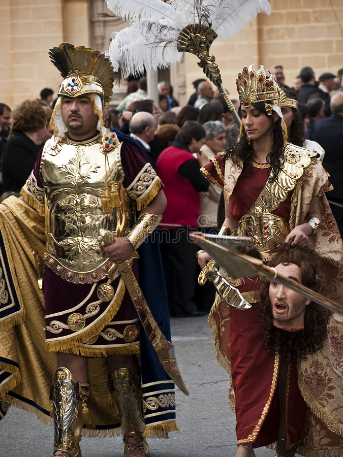 Herod y Herodias imagen de archivo libre de regalías